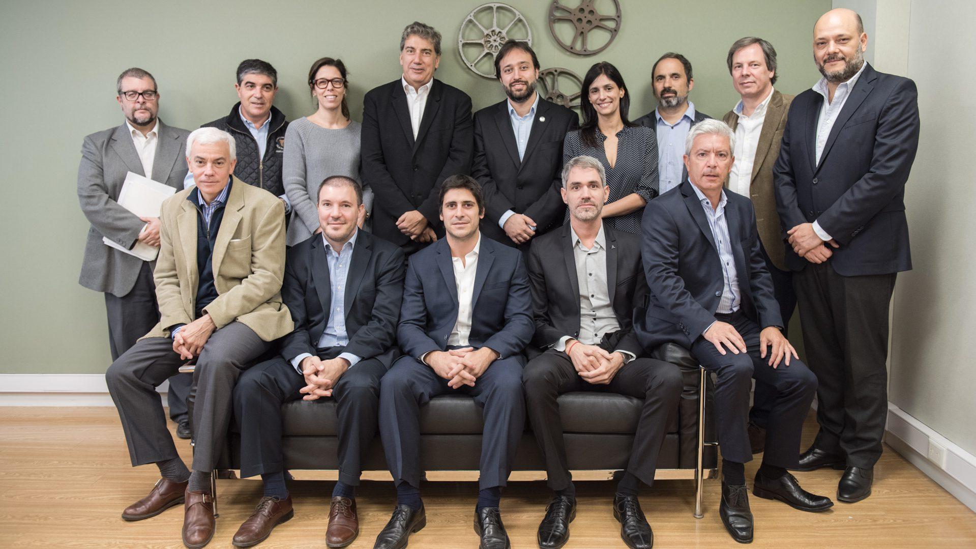 Autoridades del INCAA y el Gobierno Nacional