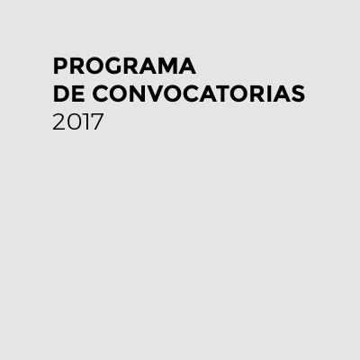 Cronograma de convocatorias 2017